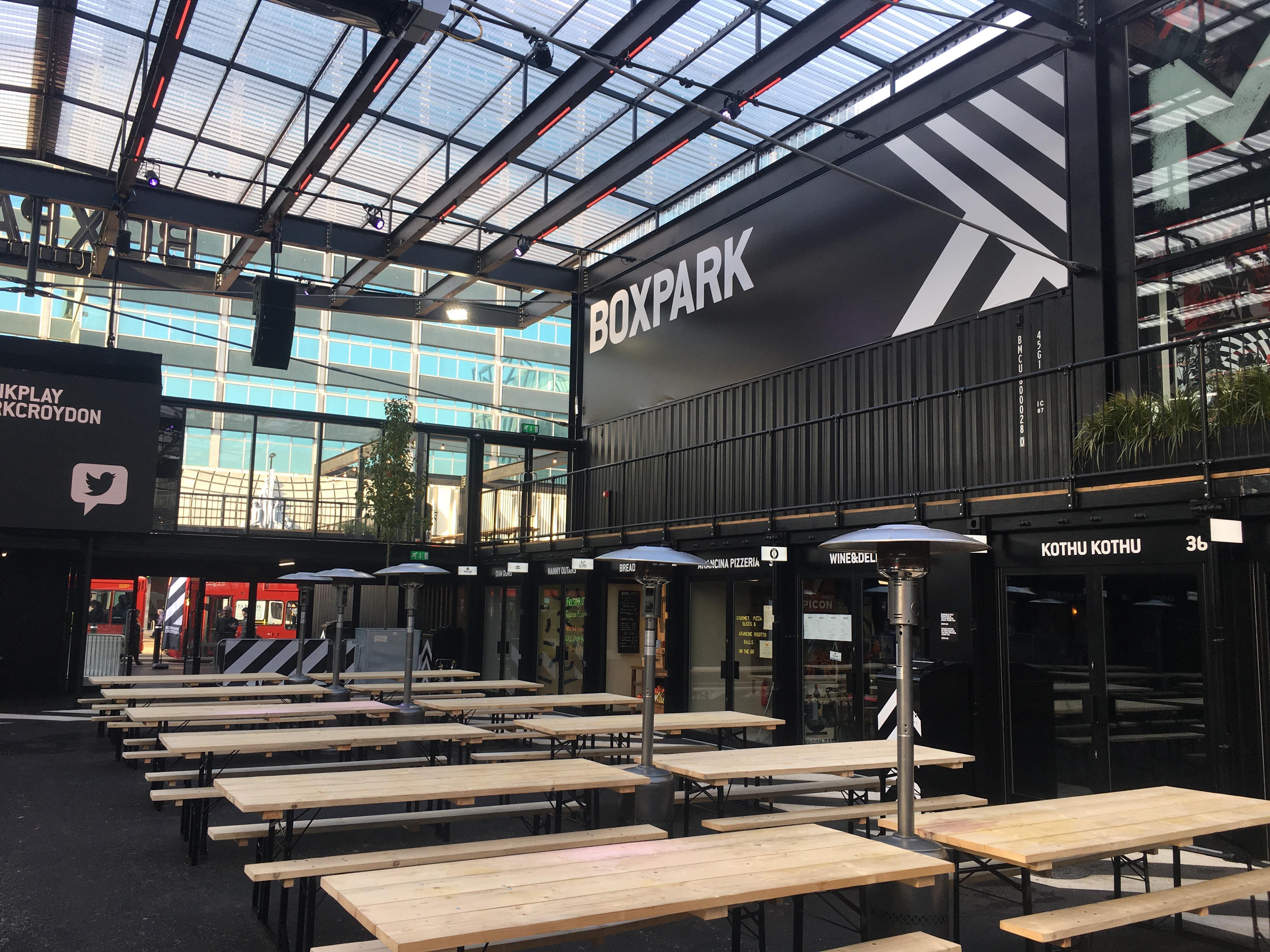 Boxpark Croydon Advanced Automated Access Ltd
