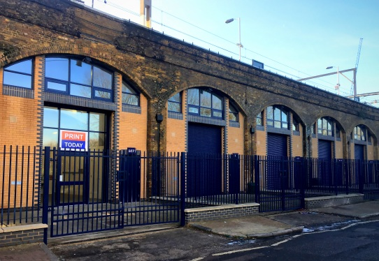 Bethnal Green Railway Arches 1